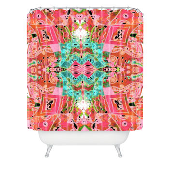 Ingrid Padilla Flora 1 Shower Curtain