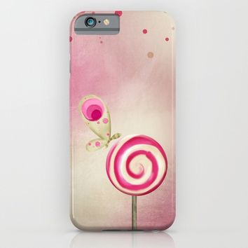 Happy Thoughts iPhone & iPod Case by Texnotropio