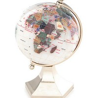 Kalifano Opal 4-in. Gemstone Globe with Contempo Stand | www.hayneedle.com