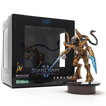 [STARCRAFT 2 KOTOBUKIYA] Protoss (Zealot) Bottle Cap Figure Collection Miniature