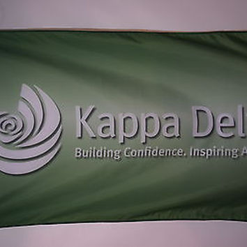 Kappa Delta College Sorority Officially Licensed Flag 3x5