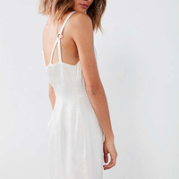 Silence + Noise O-Ring Empire Waist Slip Dress | Urban Outfitters