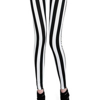 Vixen Boutique — Striped Leggings