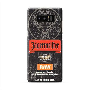 jagermeister raw Samsung Galaxy Note 8 case