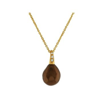 Royal Brown Baroque Pearl Necklace