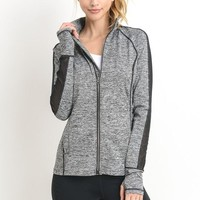 Hybrid Active Jacket (Grey)