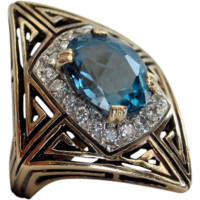 "ERTE ""MAGIQUE"" ring -State 11- Rare Collectible- Make an offer!"