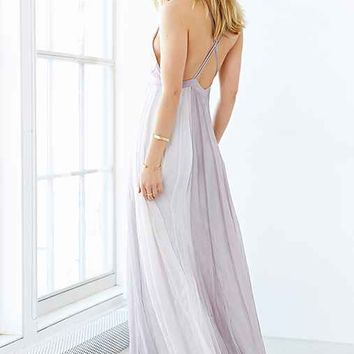 Kimchi Blue Stormy Deluxe Maxi Dress From Urban Outfitters