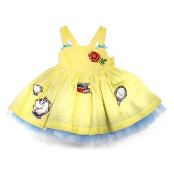 Disney by Tutu Couture Belle Applique Tutu Dress | Nordstrom