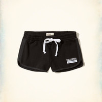Girls Curved Hem Fleece Shorts | Girls Bottoms | HollisterCo.com
