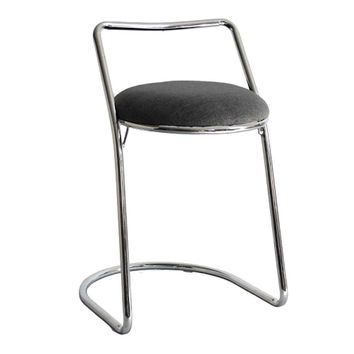 Sled Bar Stool, Gray