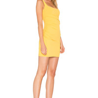 "Susana Monaco Gather Tank 17"" Dress in Golden 