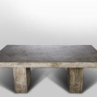 Modrest Saber Modern Concrete Dining Table