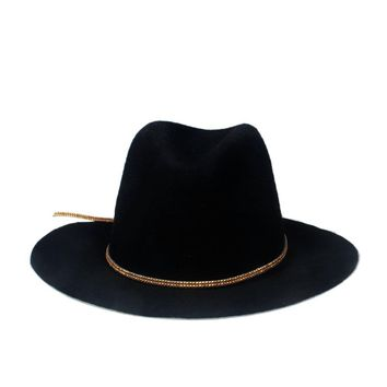 2015 New Fashion Women Men Wome 100% wool autunm Winter Fedora hat Felt Panama Floppy Derby Trilby Cap Headwear