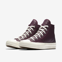 The Converse Chuck 70 Leather and Tapestry High Top Women's Shoe.