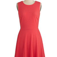 ModCloth Mid-length Sleeveless A-line Fashion Fervor Dress