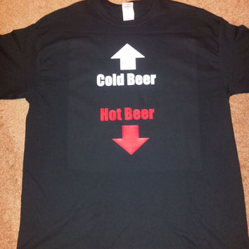 Cold Beer - Hot Beer T-Shirt