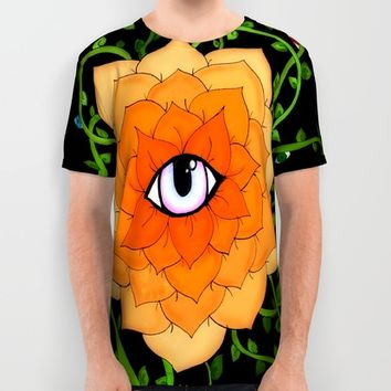 Sacral Chakra All Over Print Shirt by DuckyB (Brandi)