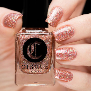 Cirque Colors Morganite Nail Polish (Facets Collection)