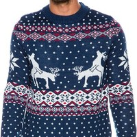 TIPSY ELVES REINDEER CLIMAX SWEATER   Swell.com