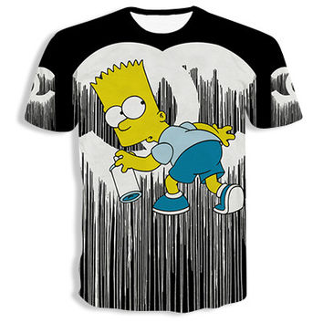 Bart Simpson 'CC Tag' T-Shirt
