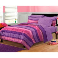 Tie Dye Purple/Pink Bed in a Bag with Sheet Set | Overstock.com
