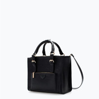Office citybag with zips