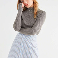 UO Campbell Button-Down Shirting Mini Skirt | Urban Outfitters
