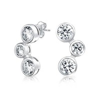 Bling Jewelry Radical Bubble Studs