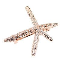 Girls Sweet Nice Starfish Beach Sea Star Hairpin Hair Clip Hairwear Hot Sale