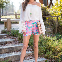 The Rosie Shorts, Pink