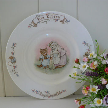 Royal Albert  Beatrix Potter Tom Kitten plate
