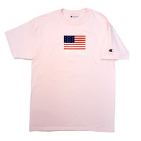 The Good Company — Dertbag Pink Flag Champion Shirt