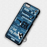 Sam Winchester Collage Quote Supernatural - iPhone 7 6 5 SE Cases & Covers