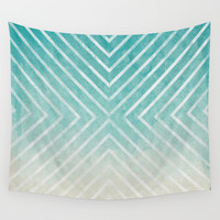 To the Beach Wall Tapestry by Brandy Coleman Ford