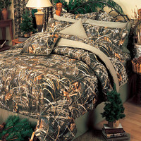 Realtree Max-4 Camo Bed Comforter Set