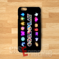 Coldplay Symbol Glow - DzD for iPhone 4/4S/5/5S/5C/6/6+,Samsung S3/S4/S5/S6 Regular,Samsung Note 3/4