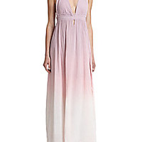 LOVESHACKFANCY - Cotton Ombré Maxi Dress - Saks Fifth Avenue Mobile