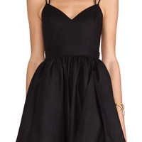 keepsake Perfect Stranger Dress in Black