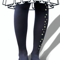 Glow in The Dark - Star Tights