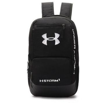 Under Armour Fashion Embroidery Shoulder Bag Travel Bag School Backpack H 8-22
