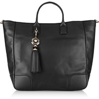 Versace Leather tote – 60% at THE OUTNET.COM