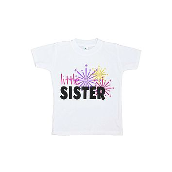 Custom Party Shop Kids Little Sister Happy New Year T-shirt