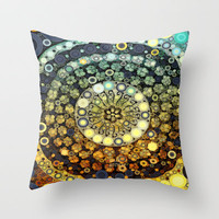 :: Kitchen Dance ::  (and those who were seen dancing, were thought to be insane) Throw Pillow by GaleStorm Artworks