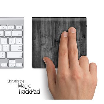 Dark Wood Skin for the Apple Magic Trackpad