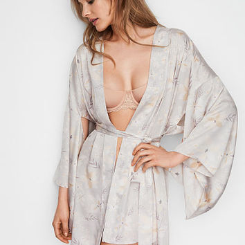 Short Satin Kimono - Dream Angels - Victoria's Secret