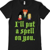 Black T-Shirt | Fun Hocus Pocus Shirts