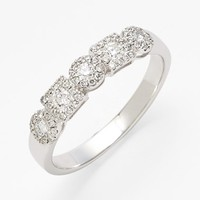 Women's Bony Levy 'Maya' Stackable Diamond Ring - White Gold (Nordstrom Exclusive)