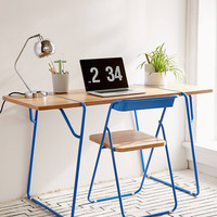 Nora Wooden Desk | Urban Outfitters