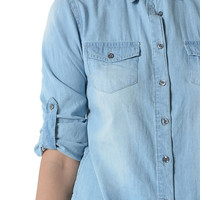 Classic Denim Liberty For All Top